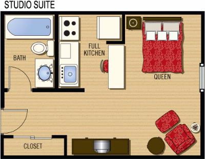 Studio Suite Layout 9 of 13