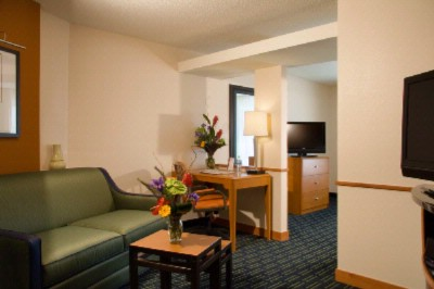 Suite Living Area-Fairfield Inn & Suites Downtown Omaha 9 of 11