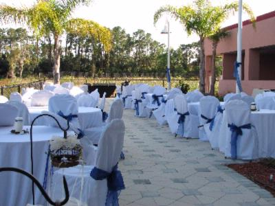 Terrace Set For A Wedding 22 of 31