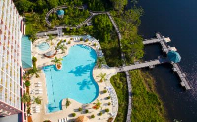 The Spacious Heated Pools Overlook The Lake 7 of 31