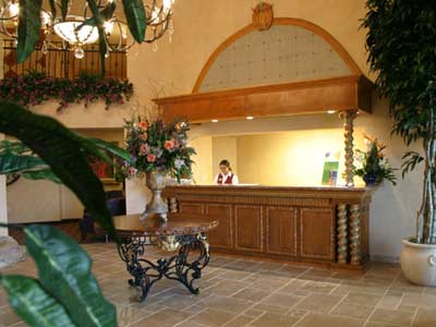 Castillo Real St. Augustine Beach Front Desk Area 3 of 5