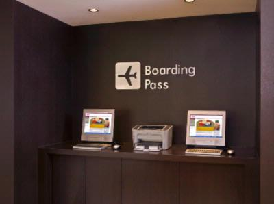 Ready For Take-Off? Of Course -With Our Boarding Pass Printing Station 9 of 12