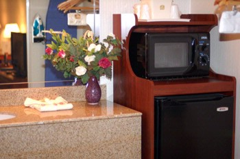 Every Room Is Equipped With A Microwave & Fridge For Your Use During Your Stay! 7 of 10