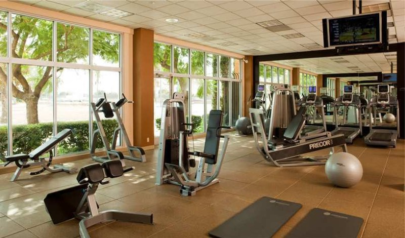 Fitness Center With Great Exterior Views 16 of 17