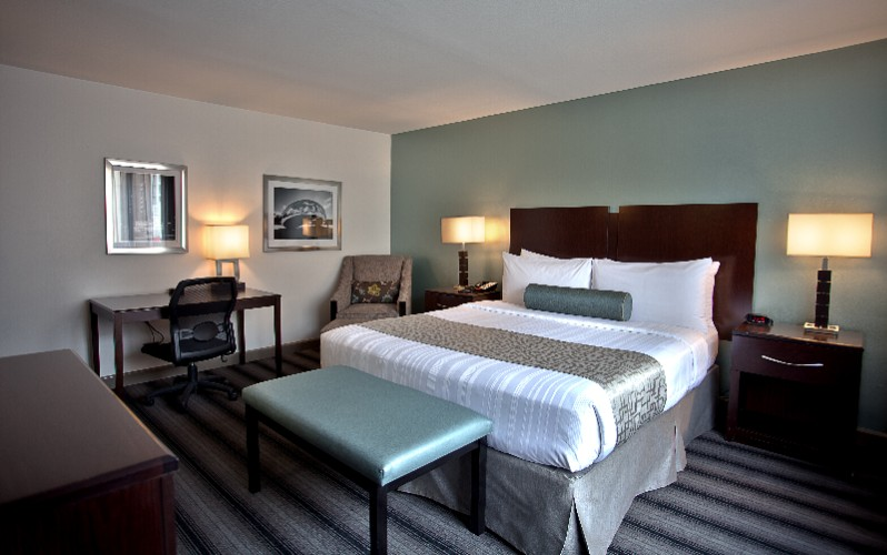 Enjoy A Good Nights Rest In Our Comfy King Rooms 5 of 19