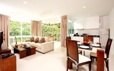 One Bedroom Apartment\'s Living Area 12 of 28
