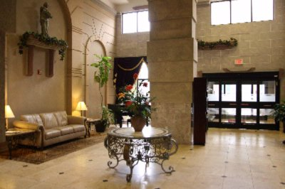 Romanesque Lobby Design 3 of 16