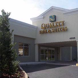Map Attractions For Quality Inn Suites By Choice Hotels