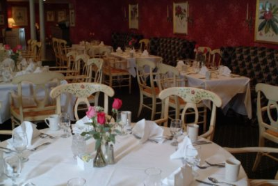 The Dining Room-With Handpainted Chairs To Match Our China 6 of 15