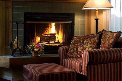 Cozy Fireplace In Every Suite 9 of 16