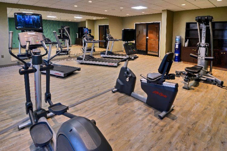 Stay Healthy In Our New On-Site Fitness Center 6 of 10