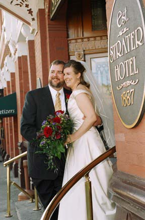 Weddings Are A Specialty At The Strater Hotel 4 of 5