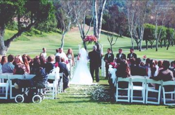 Wedding On The Golf Course 9 of 13