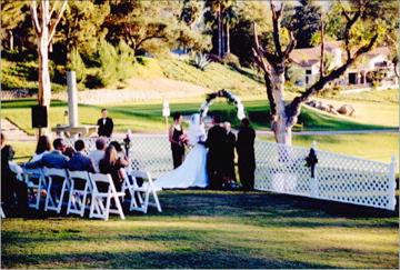 Wedding On The Golf Course 10 of 13