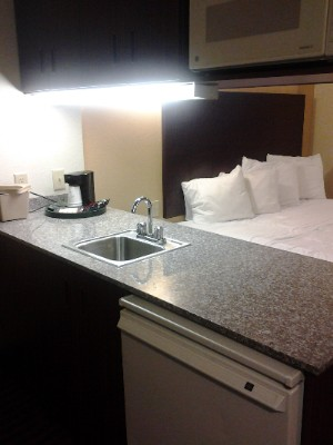 King Suite With Sofa Sleeper Refrigerator & Microwave. 8 of 13