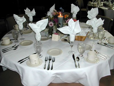 Banquet Table Setting 8 of 8