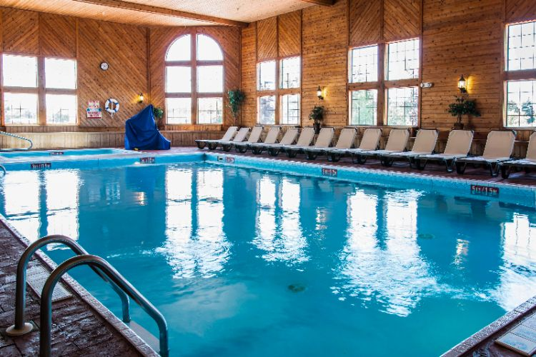 Enjoy Our Heated Indoor Pool And Hot Tub. 4 of 8