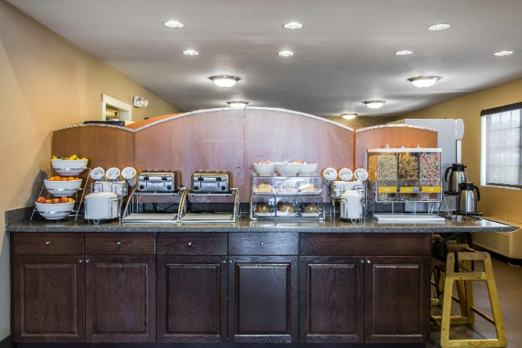 There Are A Variety Of Items To Choose From On Our Breakfast Bar. 6 of 8