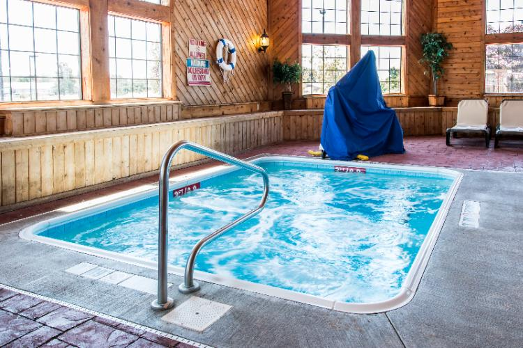 Our Heated Indoor Pool And Hot Tub Is Open From 9am To 11pm 5 of 8