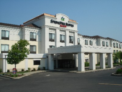 Springhill Suites by Marriott Hotel Exterior.