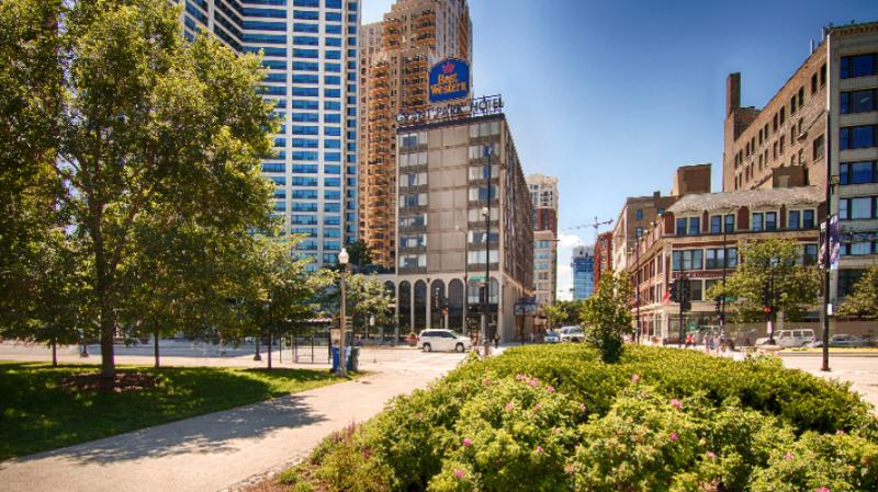 Best Western Grant Park Hotel 1100 South Michigan Ave Chicago Il 60605