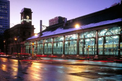 Our Carefully Restored Train Shed Now Houses An Indoor Seasonal Ice Rink. 10 of 10