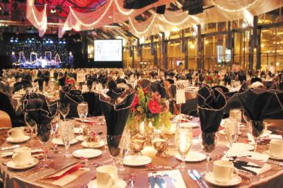 Banquet Space Set Inside The Original Train Shed Featuring Trusses And Floor-To-Ceiling Windows. 9 of 10