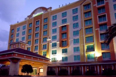 Map And Points Of Interest Near Radisson Hotel Orlando Lake Buena Vista