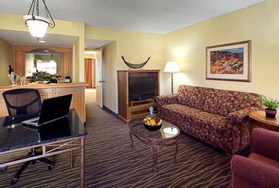 Living Room Area Of Suites 5 of 14