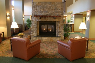 Come And Warm Up In Front Of Our Stone Fireplace 4 of 6