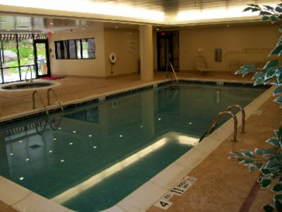 Take A Dip In Our Indoor Pool! 5 of 6