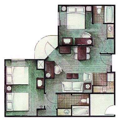 2-Bedroom Suite...perfect For Large Families!! 7 of 7