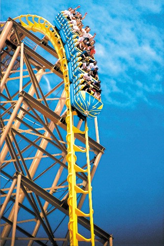 Buffalo Bill\'s Desparado Roller Coaster 30 of 31