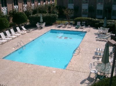 Relax By Our Outdoor Cool Pool. Ada Approved Pool Lift 2 of 13
