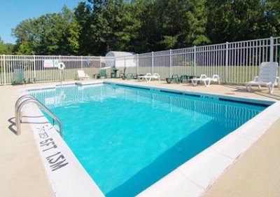 Outdoor Pool With Sundeck 12 of 13