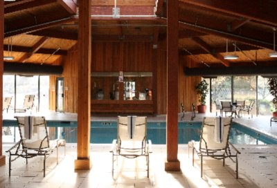 Relax In The Always Tropical Indoor Pool! 8 of 12