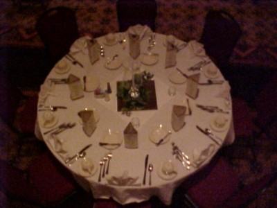 Banquet Table Set 5 of 8