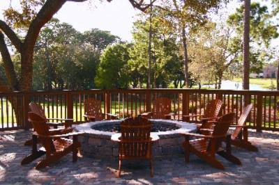Outdoor Patio At Osprey Clubhouse 6 of 10