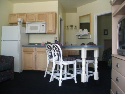 Sample Two Bedroom Suite Living / Kitchen Area 9 of 11