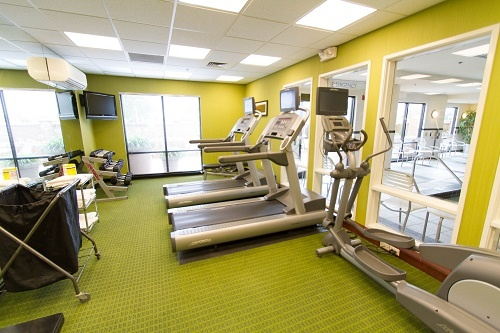 Never Miss Your Work Out While Traveling With Our Complimentary Well Appointed Fitness Center 9 of 16