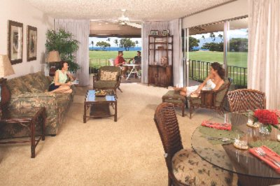Two Bedroom Partial Ocean View Living/dining Area 4 of 13
