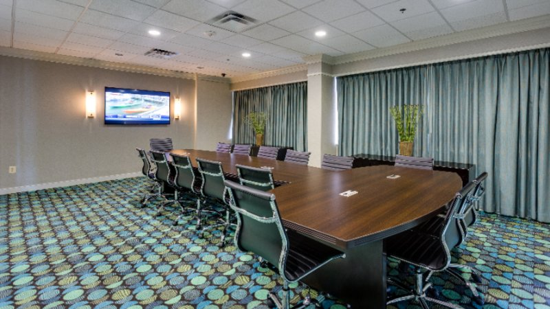 Board Room For 18 People With A 65 Inch Smart Tv For Presentations 17 of 20