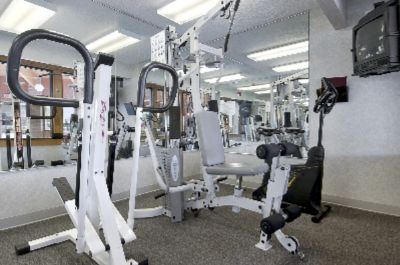 Compact Workout Room Open 7am-11pm 10 of 10