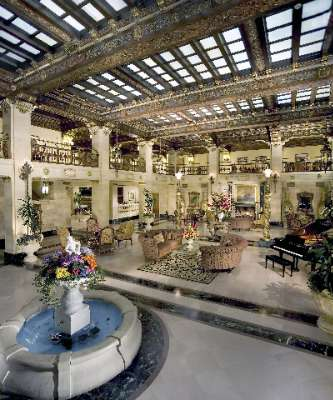 Davenport Hotel Grand Lobby 5 of 11