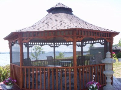 Gazebos -Nice View River And Island 15 of 20
