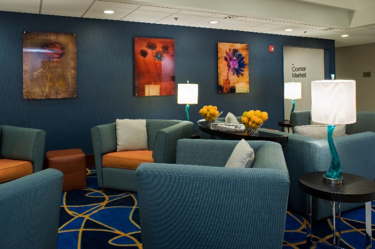 Relax In Our Cozy Lobby Or Check Your E-Mail From The Business Center 5 of 10