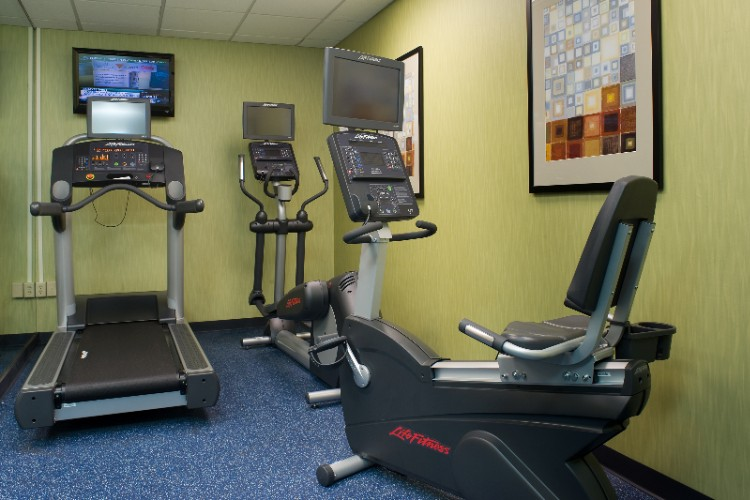 Get In Your Work Out In Our Exercise Room 9 of 10