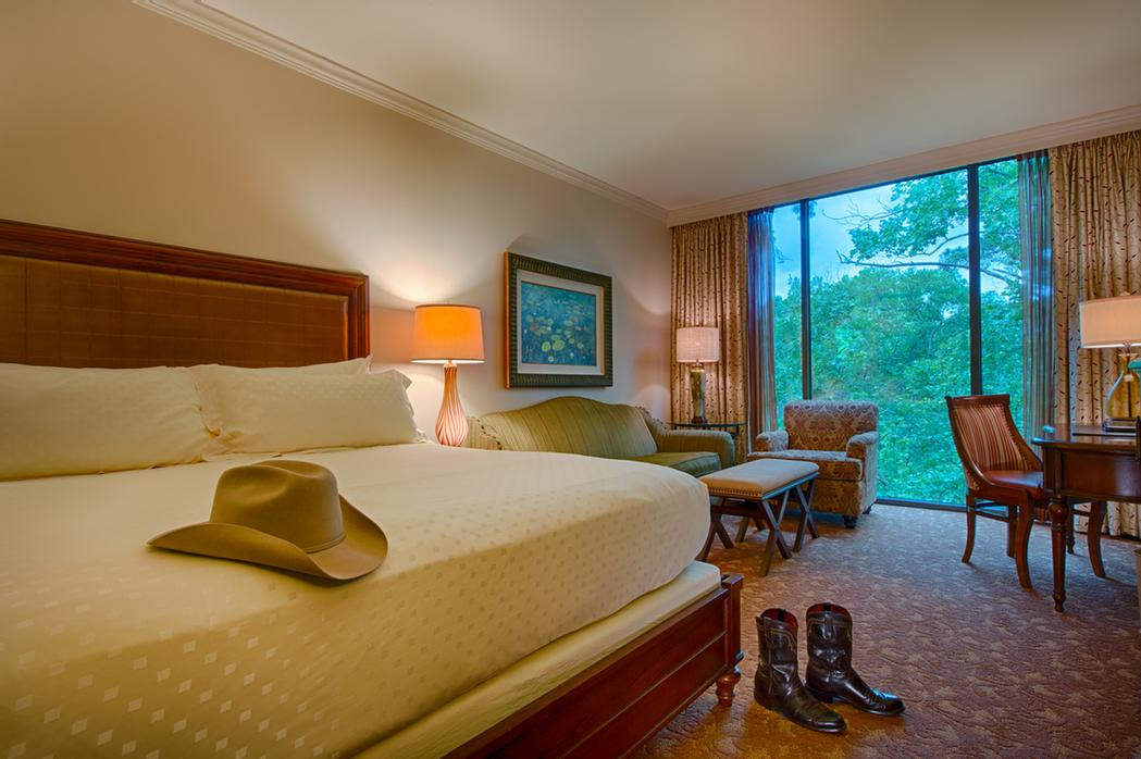 Guest Rooms Look Out Into Wooded Grounds 8 of 11