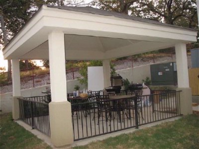 Covered Gazebo For Meeting With Family Or Friends 9 of 16
