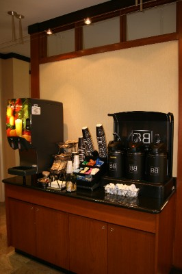 Enjoy Good Eats Complimentary Breakfast. Featuring Make Your Own Waffles And Jimmy Dean Breakfast Sandwiches. 5 of 11
